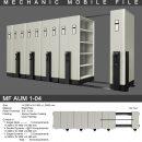 jual Mobile File Alba Mekanik MF AUM 1-04 ( 50 Compartments )