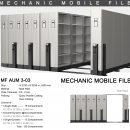 jual Mobile File Alba Mekanik MF AUM 3-03 ( 120 Compartments )