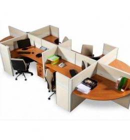 Jual Partisi Kantor Modera 6.4 WS 4 Staff