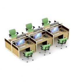 jual Partisi Kantor Uno Premium 4